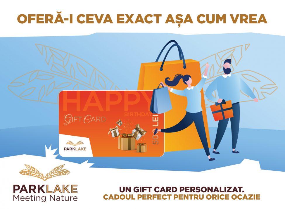 gift card, park lake